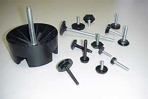 Click to get our Standard Insert Molded Levelers page in PDF